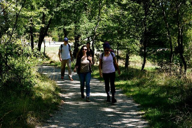 La boucle verte métropolitaine sur le parc des Coteaux