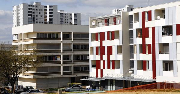 Logements rue Rabelais, Lormont Génicart