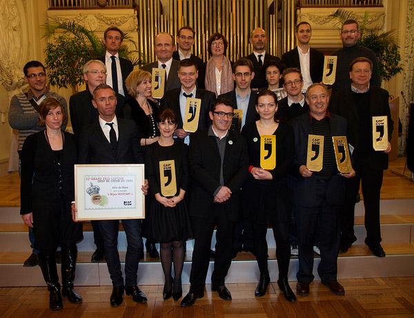 Les lauréats des prix Cap Com 2010