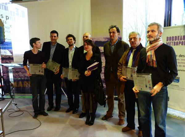 Les lauréats de l'appel à Petits Projets Innovants de la CUB