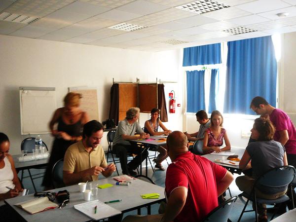 Atelier d'idéation de la Plateforme d'Innovation Numérique et Sociale