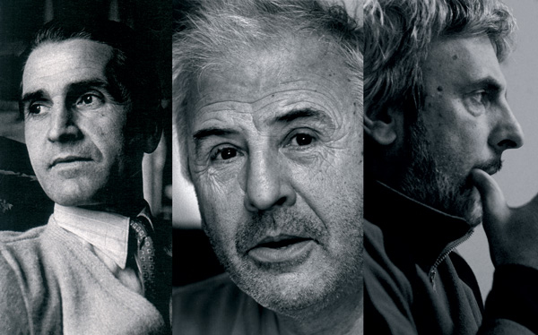 Ludovic, Claude et Christophe Massé
