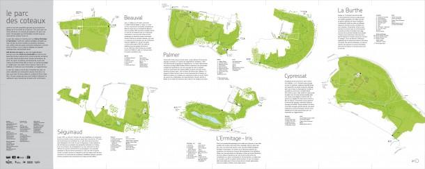 Carte Parc des Coteaux - Verso