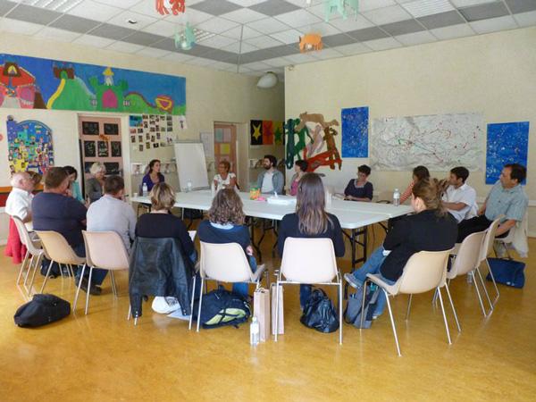 Séminaire du Parc des coteaux : l'atelier sensibilisation & éducation