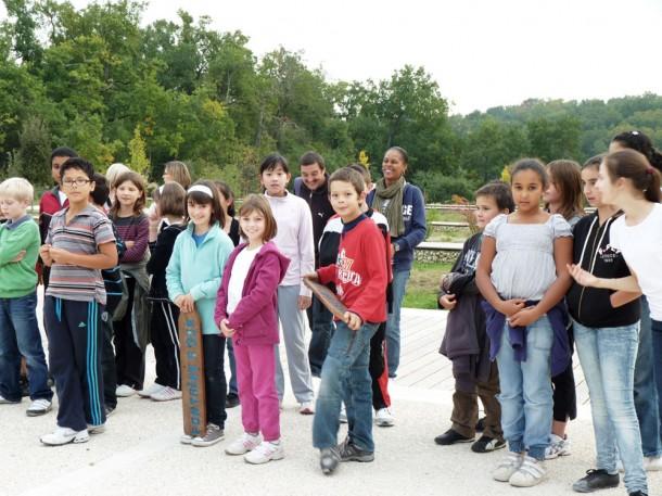 Les enfants de l'école des Cavailles