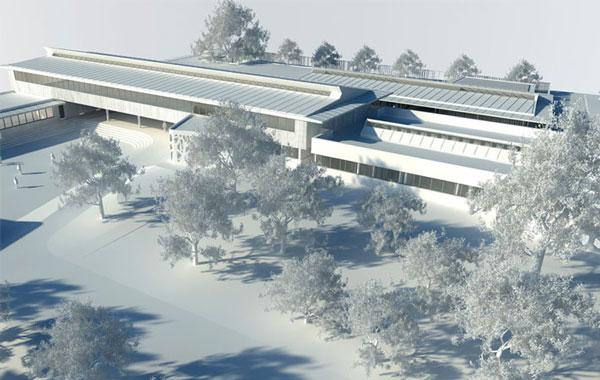 Collège Montaigne - Lormont - © art'ur