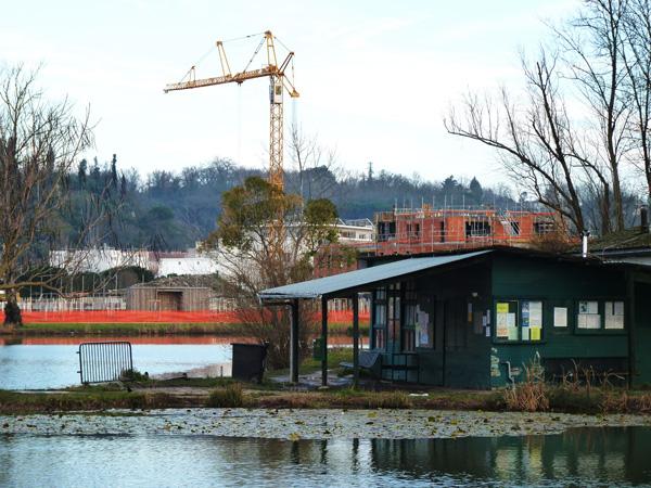 Visite des chantiers, février 2012 à Floirac