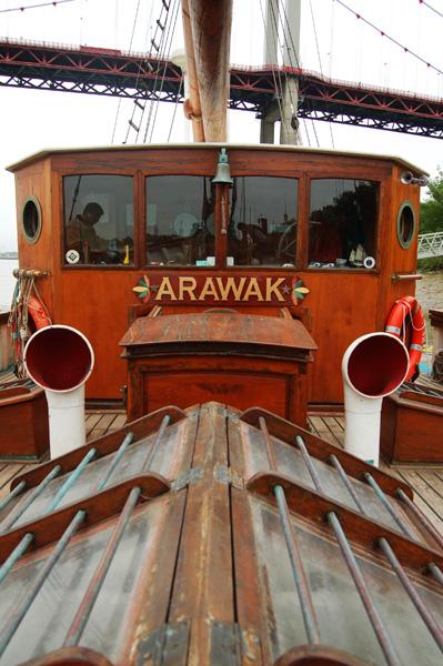 Arawak, poste de pilotage