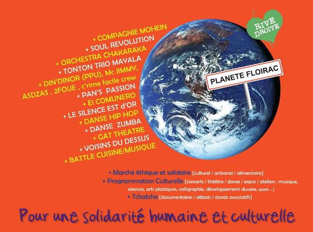 Affiche Planète Floirac 2012