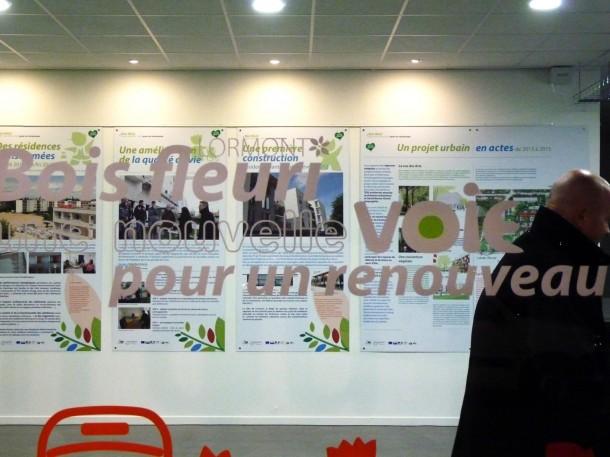 Maison du projet urbain, Bois Fleuri / Blog Rive Droite