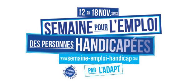 Logo Adapt semaine Emploi - Handicap