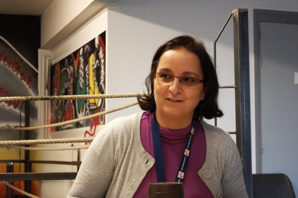 Mounia Rahmoune, à Beausite - Blog Rive Droite