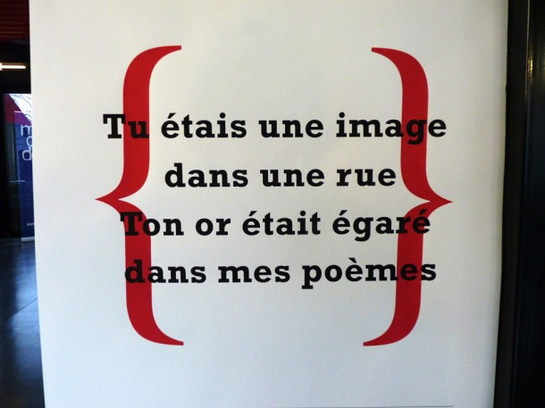 La Clameur, journal mural au Rocher de Palmer - Blog Rive Droite