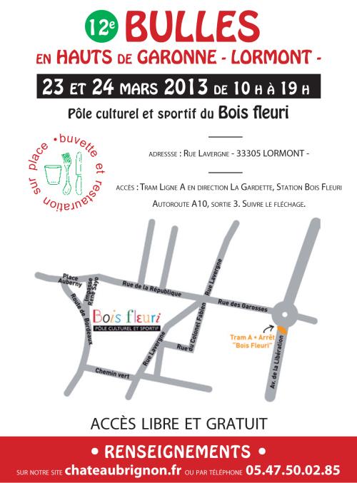 Plan Bulles en Hauts de Garonne 2013