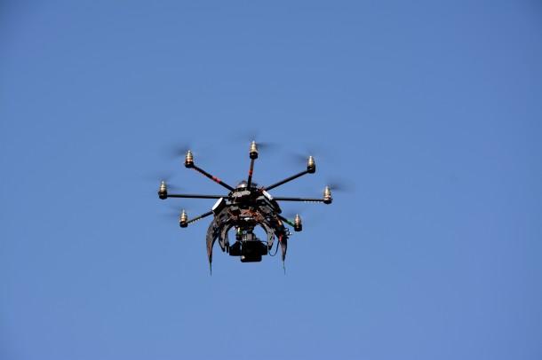 Drone au Bois fleuri, Blog Rive Droite