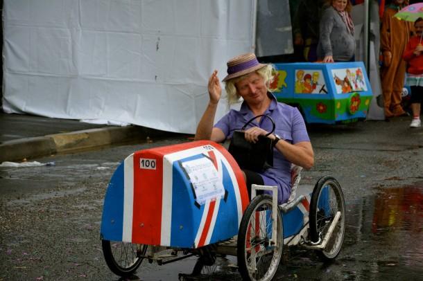 Voitures à Pédales, Cenon, 25 août 2013 : Mr. le Président de la Fédération française