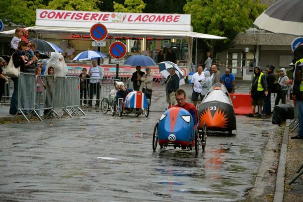 Voitures à Pédales, Cenon, 25 août 2013 : la course
