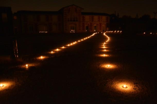 Nuit Ô Iris, le chemin de lumières