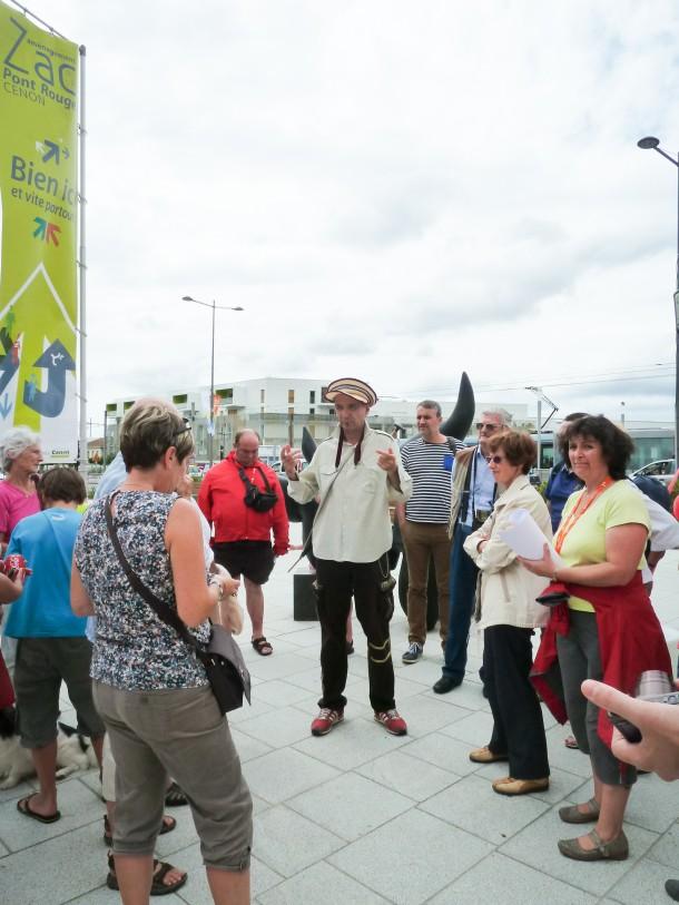 Pont Rouge : balade urbaine avec Yves Simone