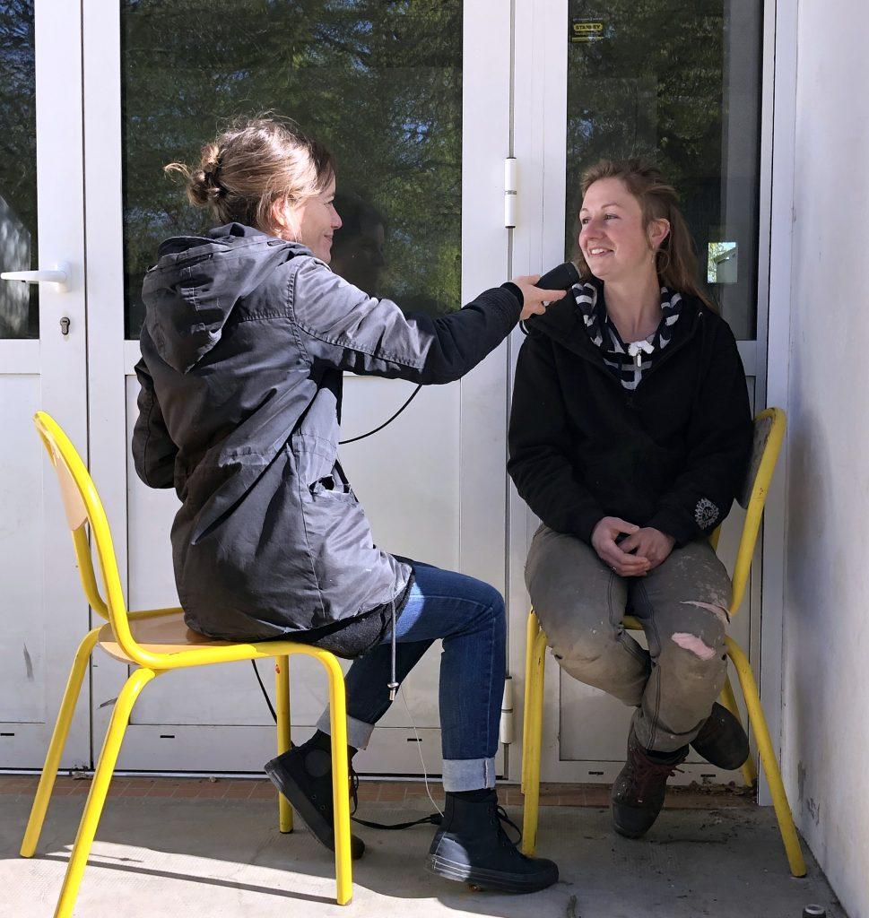 Aline Chambras interview Rachel Léobet