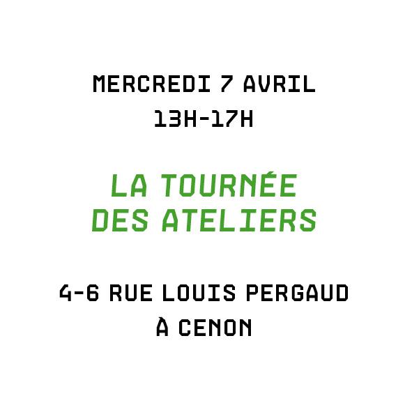 affiche Tournée des Ateliers 7 avril 2021